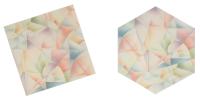 Inner Composition I (Five-piece dissection between a regular hexagon and the square)